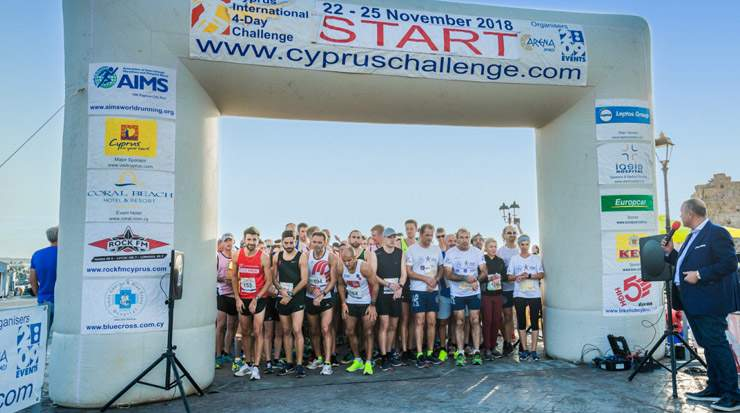 Leptos Group sponsors Cyprus international 4-Day Challenge