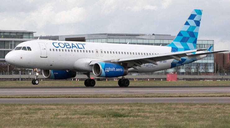 Cobalt Air now serves 21 destinations and 12 different countries