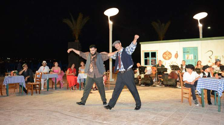 Rembetiko music and dance originates from Greece