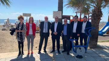Municipality of Larnaca delivered outdoor fitness equipment