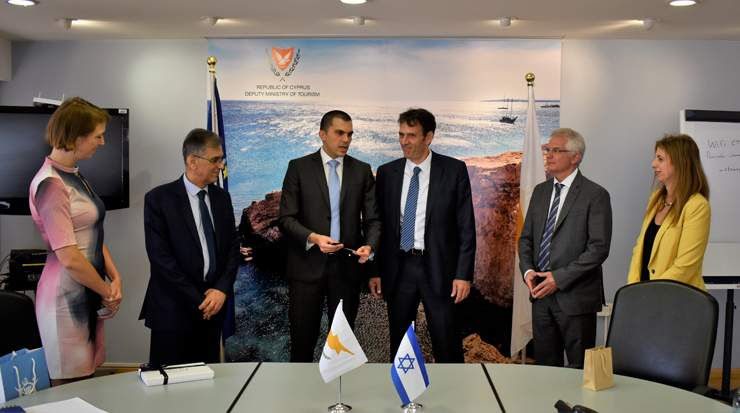 Deputy Ministry of Tourism Cyprus meets with Israeli Ministry of Tourism
