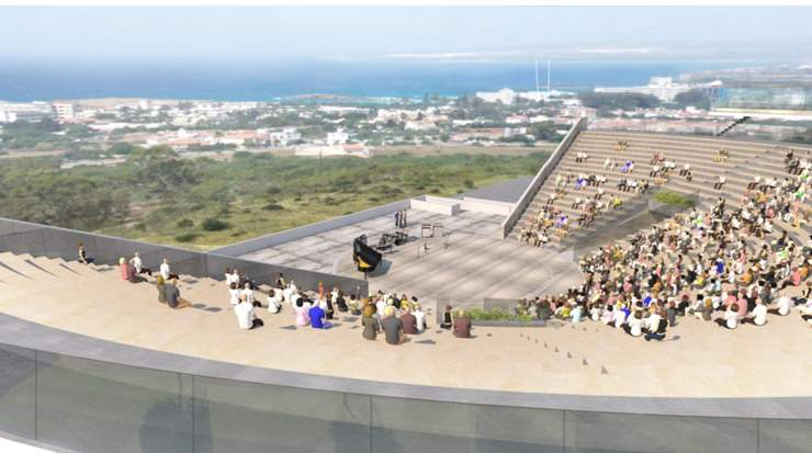 Artist impression of the Ayia Napa Amphitheatre