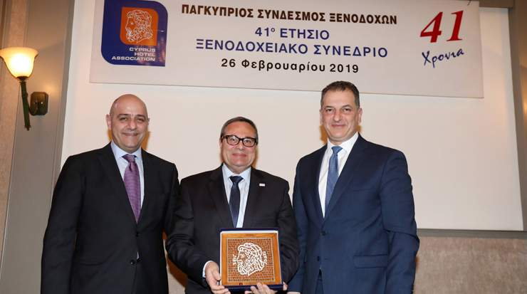 Cyprus Hotel Association Honoured Angelo Loizou