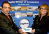 Christiana Neophytou (right) was the winner of Leptos Group magazine's competition