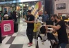 Kings Avenue Mall hosted the Movember campaign with men shaving their moustaches for a good cause